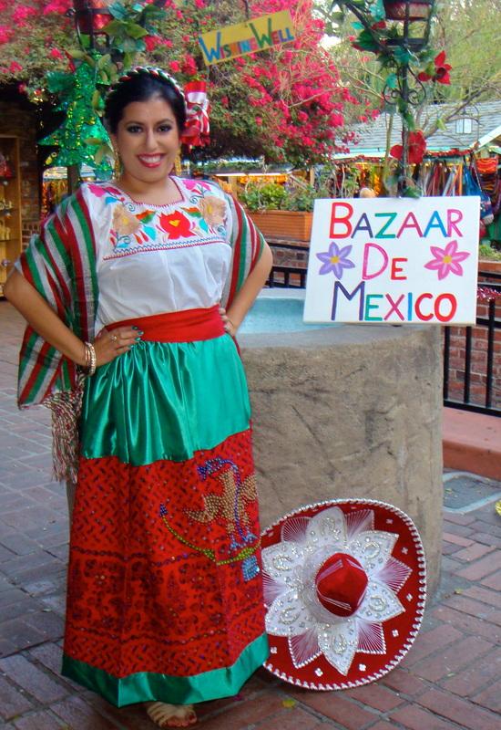 Traditional Dress Ropa Tipica Bazaar De Mexico